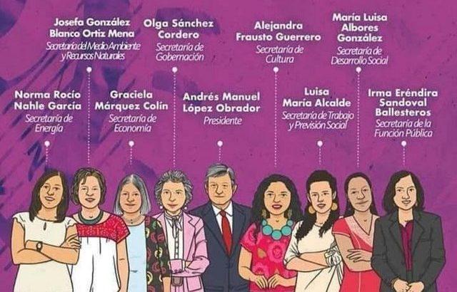 Viva México cabronas: López Obrador fue electo y tiene un gabinete con mayoría femenina