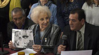 """Abuelas: """"Encontramos al hijo de Rosario, nuestro nieto 128"""""""