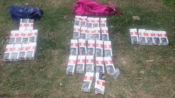 Barranqueras: secuestran cartones de cigarrillo