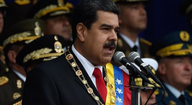 """Maduro, tras el atentado: """"Está detrás Juan Manuel Santos"""""""