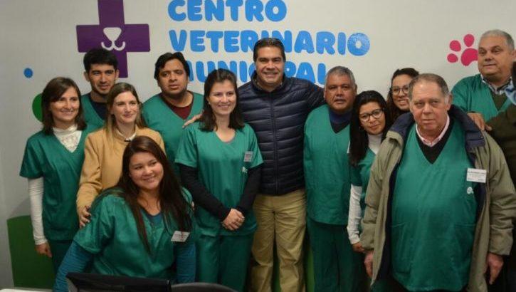 Salud animal: Capitanich inauguró el nuevo Centro Veterinario Municipal
