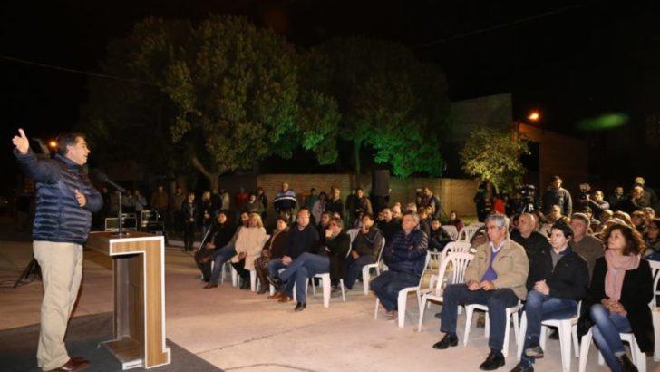 Capitanich habilitó 12 cuadras de pavimento urbano en Villa Seitor
