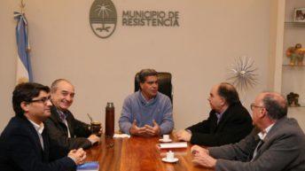 Capitanich y Mario Cafiero analizaron la crítica situación social que vive el pueblo argentino