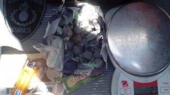 Charata: detuvieron a un joven que aparentemente comercializaba drogas