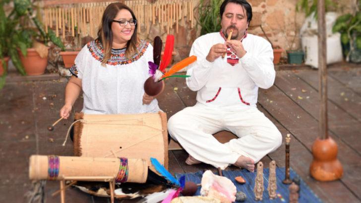 Danzas y ritmos mayas, en el Cecual