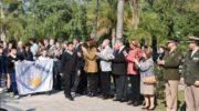 Grillo asistió al acto en conmemoración al fallecimiento del General San Martín