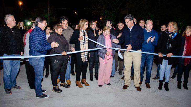 """Inauguración de pavimento en el Llaponagat: """"Resistencia está viviendo un profundo cambio"""""""