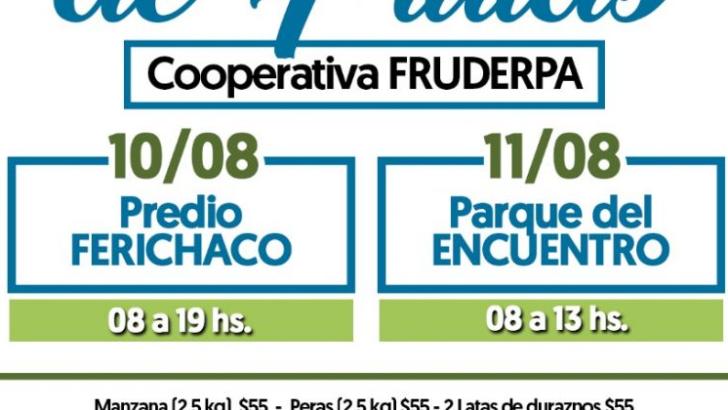 Llega a Sáenz Peña el camión de frutas con los mejores precios del mercado