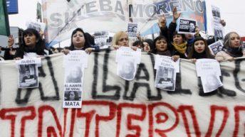 Multitudinarias marchas por las muertes en la escuela de Moreno