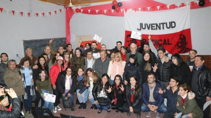 Puerto Tirol: asumieron las nuevas autoridades del Comité y la Juventud Radical