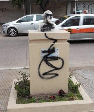 Repudio al ataque de un local de Unidad Ciudadana Chaco y al busto de Néstor Kirchner 1