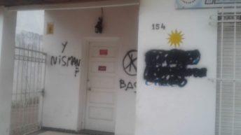 Repudio al ataque de un local de Unidad Ciudadana Chaco y al busto de Néstor Kirchner