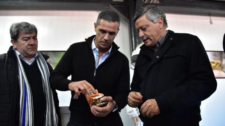 Sáenz Peña: Peppo recorrió el establecimiento Argen-Mieles