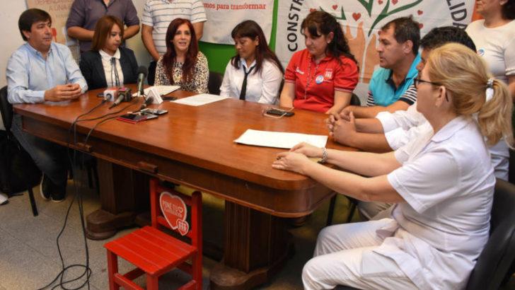 Sameep acompaña a la fundación Construyendo Corazones Solidarios y a la UEPG Nº78