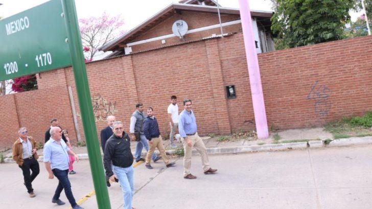 Barrio Paykín: el intendente supervisó trabajos municipales y dialogó con vecinos