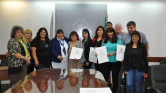 Docentes chaqueños becados por la nación fueron reconocidos por el Poder Legislativo