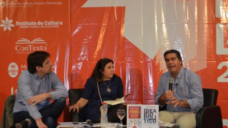 Capitanich presentó su nuevo libro: Ideario Político para la transformación