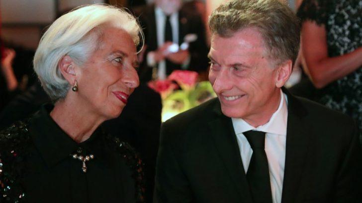 Ultiman detalles de la denuncia por el acuerdo de Macri con el FMI