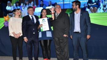El gobernador acompañó el aniversario de Hermoso Campo