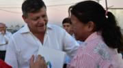 En el aniversario de La Tigra, Peppo entregó viviendas e inauguró obras