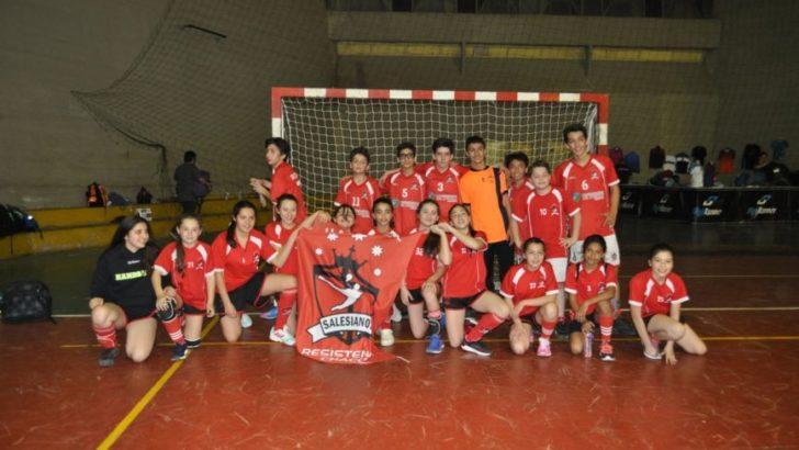 Handball: Salesianos fue protagonista en el Nacional de Infantiles de Embalse