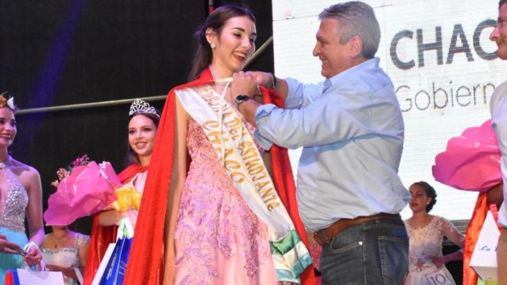 Irina Marinoff es la Reina Provincial de los Estudiantes