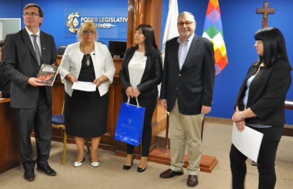 Juan Valdés, catedrático internacional, disertó en la Legislatura del Chaco 1