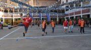 Los más chiquitos del handball se encuentran este jueves en el colegio Don Bosco
