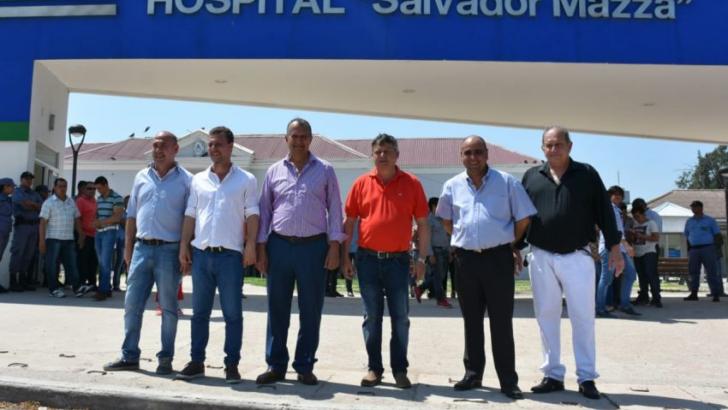 Peppo encabezó inauguraciones en Villa Ángela