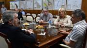 Peppo y Felipe Solá dialogaron de la situación del país de cara al 2019