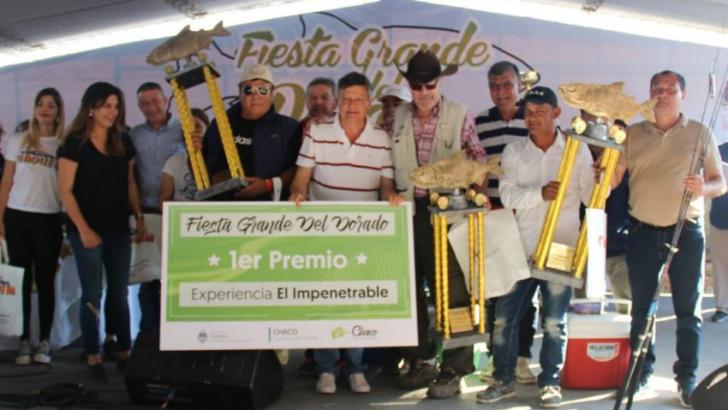 """Pesca en la Isla del Cerrito: """"esta fiesta nos permite mostrar al mundo nuestro potencial turístico"""""""