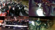 Secuestraron más de 100 motocicletas durante el fin de semana