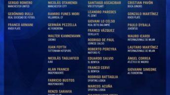 Selección Argentina: estos son los convocados para los amistosos de octubre