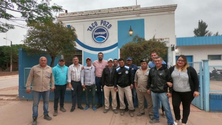 Autoridades de Sameep se reúnen con equipos del interior para mejorar el servicio