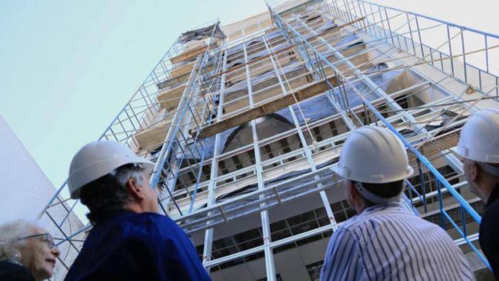 Avanzan las obras del nuevo edificio de Lotería Chaqueña