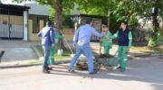 Barrios: operativo de limpieza integral, con Capitanich a la cabeza escuchando a los vecinos