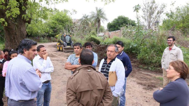 Operativo de limpieza integral y erradicación de mini basurales en Villa Elba
