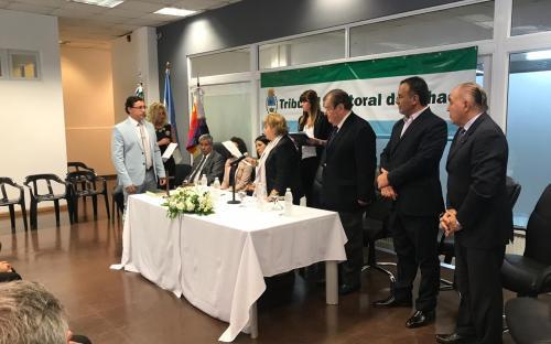 Tribunal Electoral: juraron representantes de la magistratura y Ministerio Público
