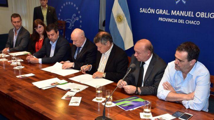 Chaco y el CFI firmaron convenios para el fortalecimiento de pymes chaqueñas
