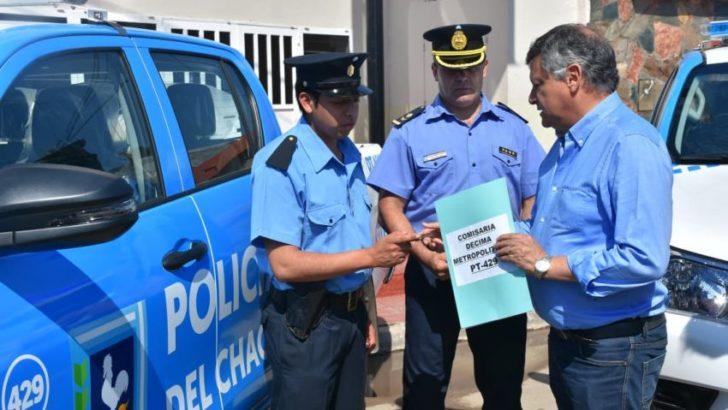 Seguridad: entregaron vehículos para reforzar el accionar policial en el área metropolitana