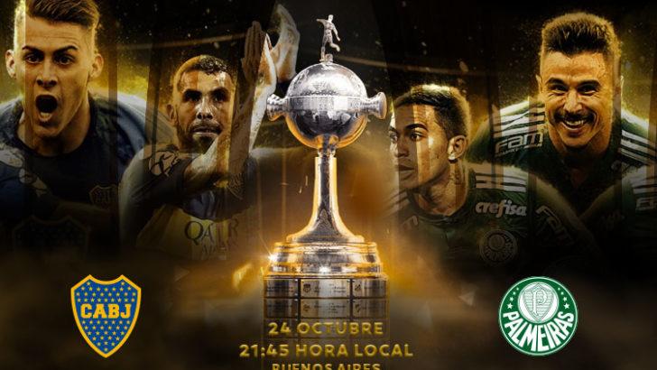 Libertadores: Boca recibe a Palmeiras en la ida de semis