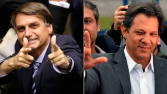 """Brasil: Bolsonaro promete una """"limpieza nunca vista"""" y Haddad lo tilda de """"jefe de milicia"""""""