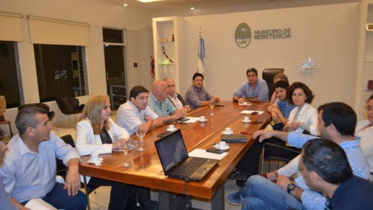 Capitanich presentó ante comerciantes el proyecto del nuevo Sistema de Transporte Público