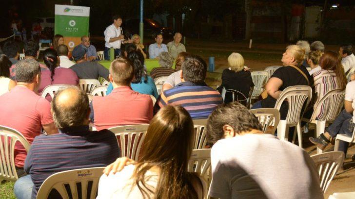 Concejo: Villa Prosperidad se expresó en audiencia pública y acordaron diversos trabajos
