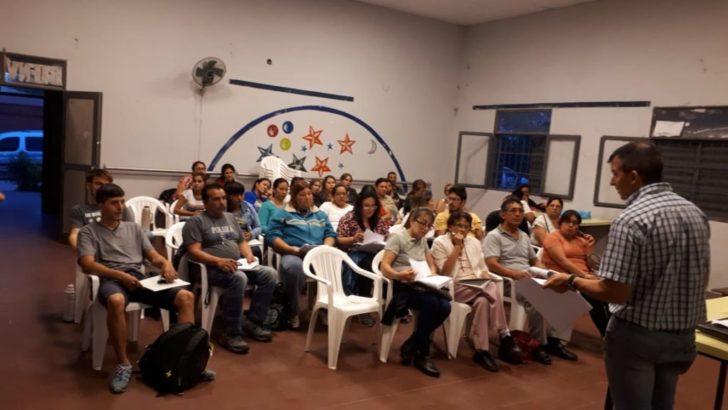 Continúa el Programa Barrios Emprendedores en los CCM de 244 viviendas y Villa del Parque