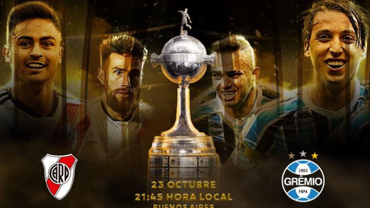 Libertadores: River recibe a Gremio en el primer duelo de seminales