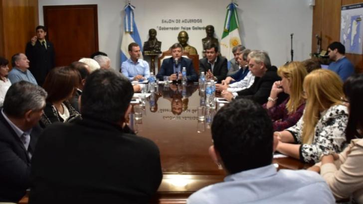 Presupuesto 2019: Peppo continuó el diálogo con intendentes y diputados radicales