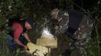 Secuestraron 74 kilos de marihuana en Corrientes y Formosa