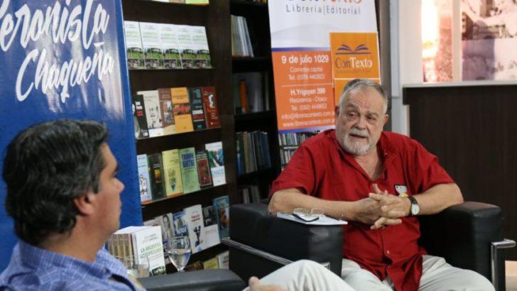 Semana de la Cultura Peronista: Capitanich acompañó presentación del último libro de Mempo