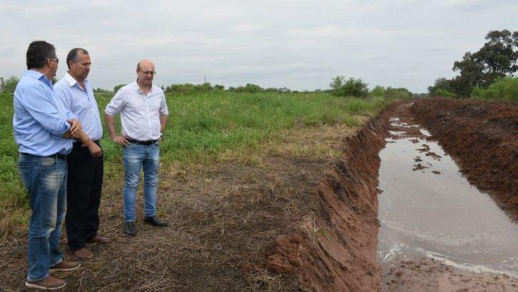 Villa Ángela: realizan obras para asegurar la provisión de agua